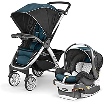 Amazon Com Chicco Bravo Trio Travel System Lake Baby