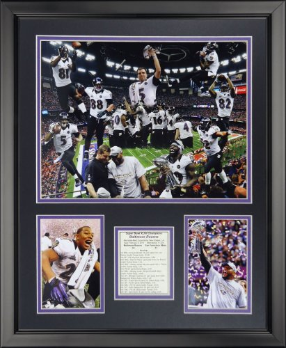Legends Never Die Baltimore Ravens - 2012 Champs Framed Photo Collage, 16
