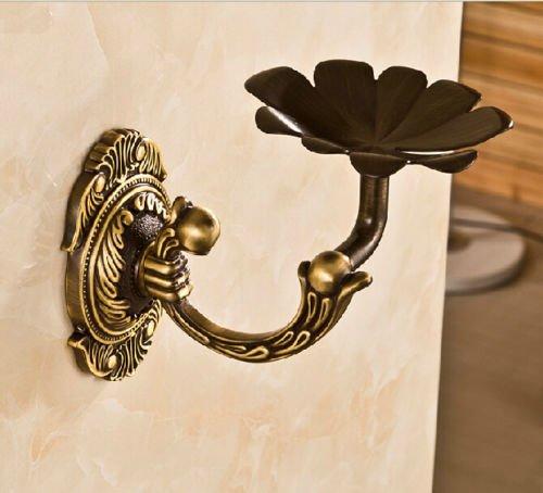 Soap Dish Antique Brass, Holder Wall Mount Shower Elegant Soap Dishes, Soap Dish Decorative