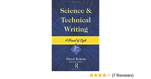 science and technical writing a manual of style pdf