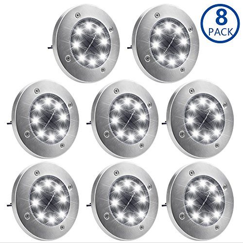 In Ground Solar Led Lights in Florida - 6