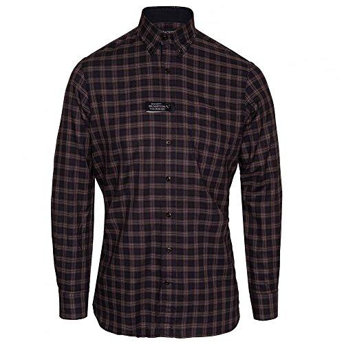hackett-long-sleeve-navy-twill-plaid-shirt-medium-navy-navy