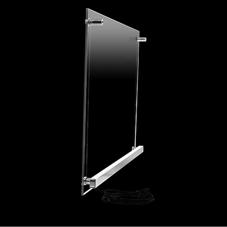 Energieklasse A+ Infrarot-Heizung 750W Heizpaneel-e Transparente Glas-Heizung Infrarot-Strahler