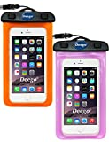 Universal Waterproof Case, [2 Pack] Deego Clear Cell - Best Reviews Guide