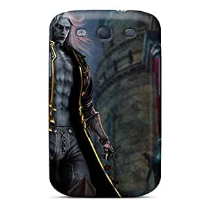 Galaxy S3 Case Bumper Tpu Skin Cover For Alucard In Castlevania Lords Of Shadow 2 Accessories