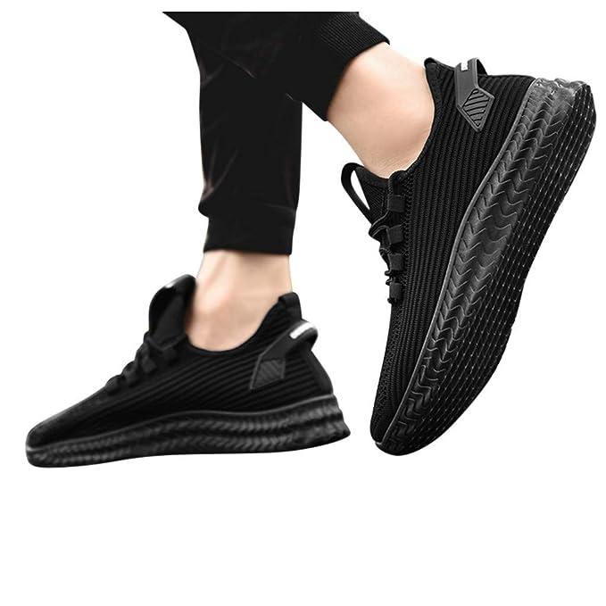 Shoes for Men, Absolute SAYTRLAE cinturón de Malla Tejida voladora ...