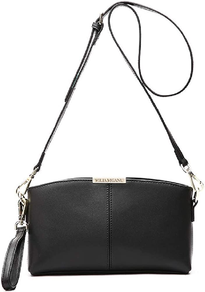 New Shell-Type Leather Shoulder Bag Cowhide Europe Style-Small Party Bag Ms Portable Messenger Mini Bag