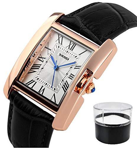 Relógio de Pulso Feminino Skmei Modelo 1085 Cor:Preto