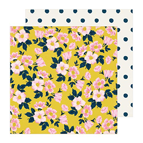 Scrapbooking Apple Paper - Maggie Holmes 350786 Apple Blossom Paper, Multi