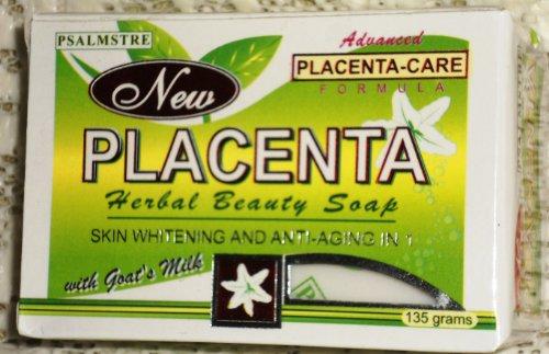 Psalmstre New Placenta Herbal Beauty Soap - Goats Milk 135g