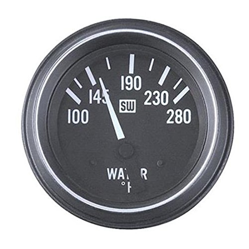 Stewart Warner 284J 2-1/16 Heavy Duty Electric Water Temperature Gauge by Del City