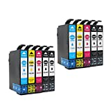 YDINK 10 Pack Replacement for Epson T288XL 288XL Ink Cartridge Used in Epson Expression XP-330 Expression XP-430 Expression XP-434 Printer ( 4BK 2C 2M 2Y )