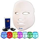 Led Face Mask | 7 Color Light Therapy | Zohi Photon Facial Mask For Skin Rejuvenation and Improvement | Healthy Therapy for Anti Aging, Collagen, Wrinkles | Facial Mask | Korean Skin Care