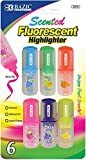 Fruit Scented Fluorescent Highlighter Set 144 pcs SKU# 1931459MA