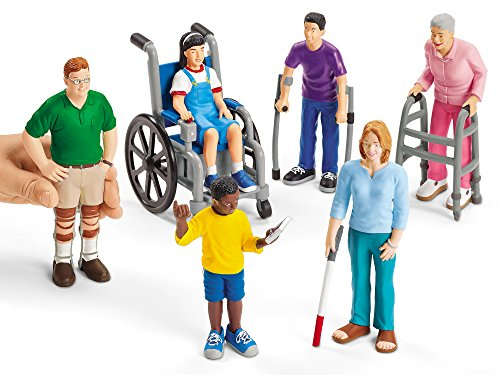 Toys For Adults With Disabilities : Lakeshore pretend and play people with differing abilities