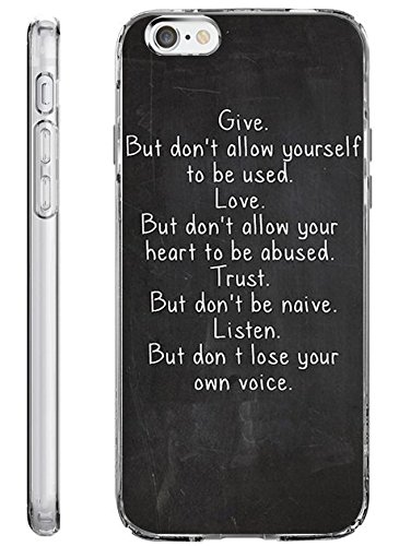iPhone 6S Plus Case Slim Fit 5.5 Inch Christian Quote (Halloween Qutoes)