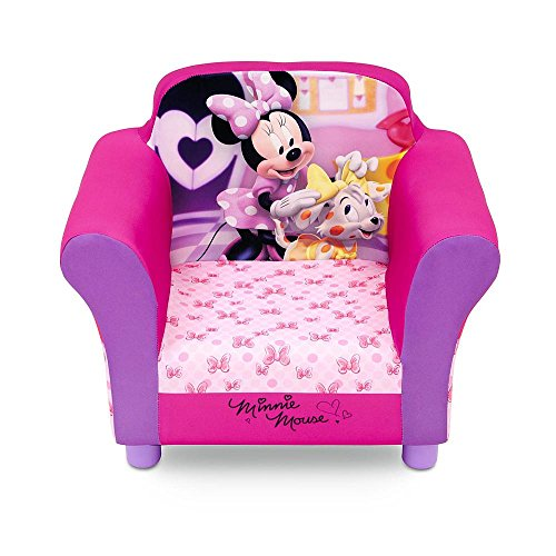 Disney Toddler Girl's Upholstered Chair - Minnie Mouse by Disney Toddler Chairs