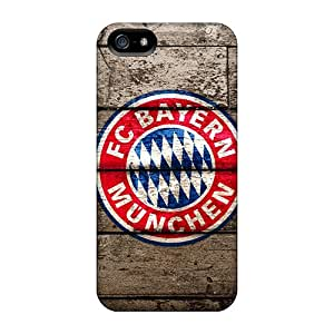 LeoSwiech Apple Iphone 5/5s Perfect Hard Phone Cases Support Personal Customs Fashion Fc Bayern Munich Series [nhY22208oRVc]