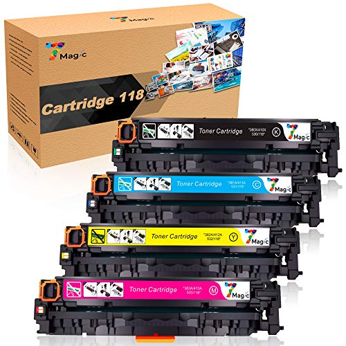 7Magic Remanufactured Toner Cartridge Replacement for Canon Cartridge 118 for...