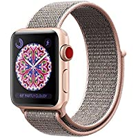 For Apple Watch Band,Soft Breathable Woven Nylon...