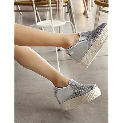 shangy idamen Chaussures–Ballerines–outddor/bureau–Sur Mesure matériaux–Plat Paragraphe–Ronde–Chaussures NOIR/