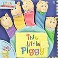 Little Scholastic: This Little Piggy: Hand Puppet Board Book