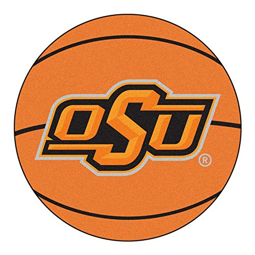 Fan Mats Oklahoma State University Basketball Area Rug ()