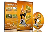 Virtual Cycle Rides - Through the Forest - For Indoor Cycling, Treadmill and Running Workouts