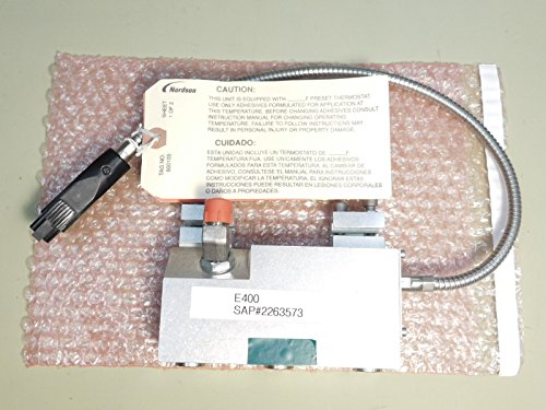 BRAND NEW - Nordson E400 Hot Melt Gun E400-4 Part No. 7331457 by Nordson