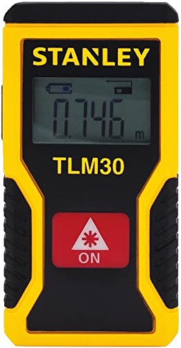 Stanley STHT77425 TLM30 Pocket Laser Distance Measurer, 30