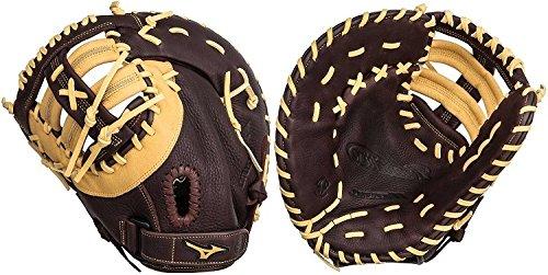 Mizuno Franchise 12.5 Inch First Base Glove Single Post Brown Left Hand (Mizuno First Base Glove)