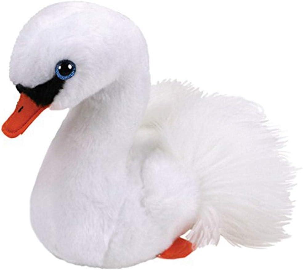letaowl Juguete de Peluche 15cm Swan Plush Regular Animal De Peluche Colección Soft Doll Toy