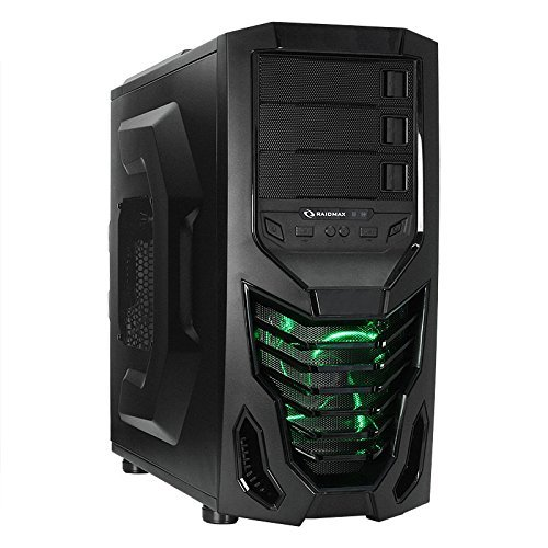 Raidmax Cobra ATX Mid Tower Case ATX-502WBG (Black)