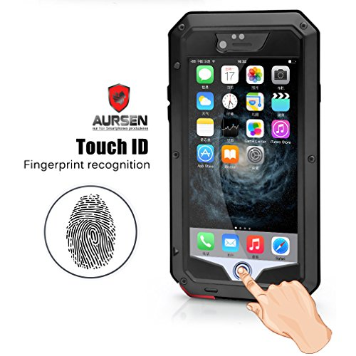 Aursen® Wasserdichte Schutzhülle Outdoor Waterproof Case Staubdicht Stoßfest hülle Schutzhülle für Apple iPhone 5/5S/6/Plus/6s/6s Plus