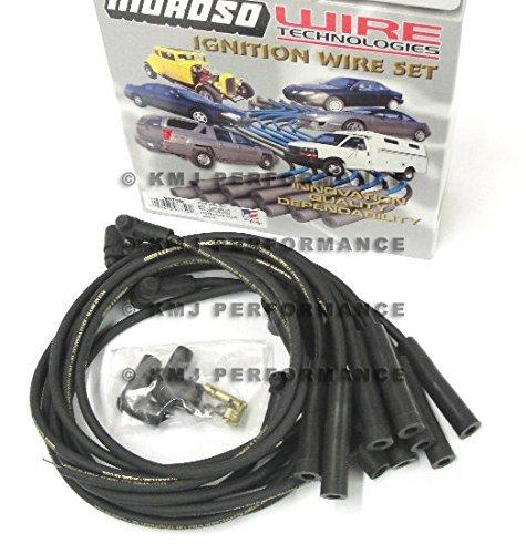 Moroso 9875M Mag-Tune Plug Wire Set (BBC Straight HEI), 1 Pack (Moroso Wire)