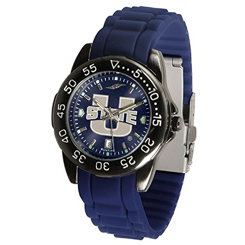 (Linkswalker Mens Utah State University Aggies Fantomsport Ac Anochrome Watch)