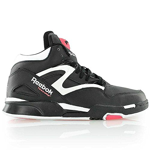 Reebok Classic Pump Omni Lite Black Womens Sneakers, Size 6.5