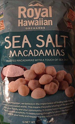 Royal Hawaiian Orchards Macadamias, Sea Salt Macadamia Nuts, 24 Ounces (680 Grams) by Royal Hawaiian Orchards (Image #1)
