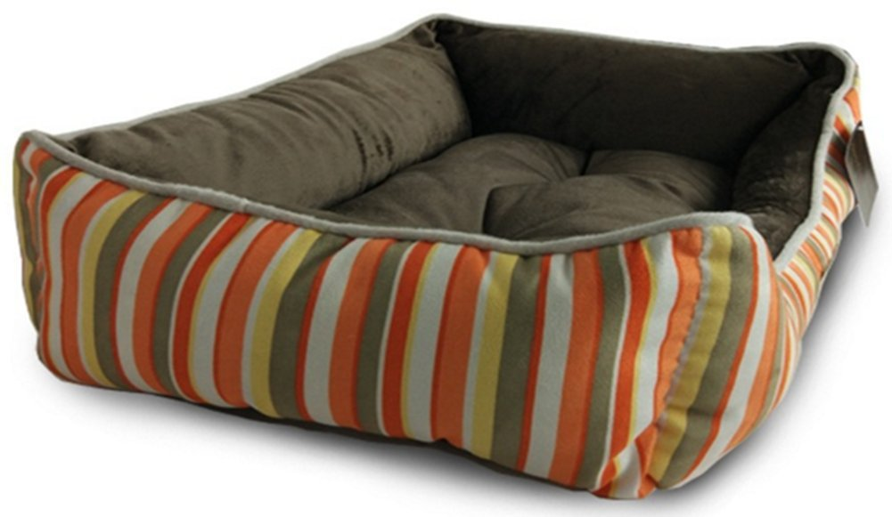 orange brown 24x16x7 Inches orange brown 24x16x7 Inches Goulaiyun Dog Beds Pet Beds Medium, Small Pets Pet Cuddler Bed Personalized Dog Bed (24''x16''x7'' inches, orange Brown)