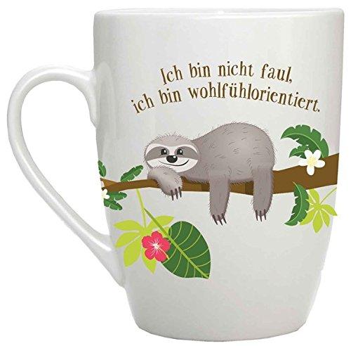 Ich bin nicht faul, ich bin wohlfühlorientiert: Tasse Unbekannter Einband – 15. August 2018 Reinhard Engeln Brunnen B07CPF7N9G Dekorative Kunst