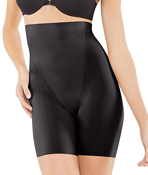 141f89922fca5e SPANX Women's Trust Your Thinstincts High Waisted Mid Thigh Shaper, Black,  Medium