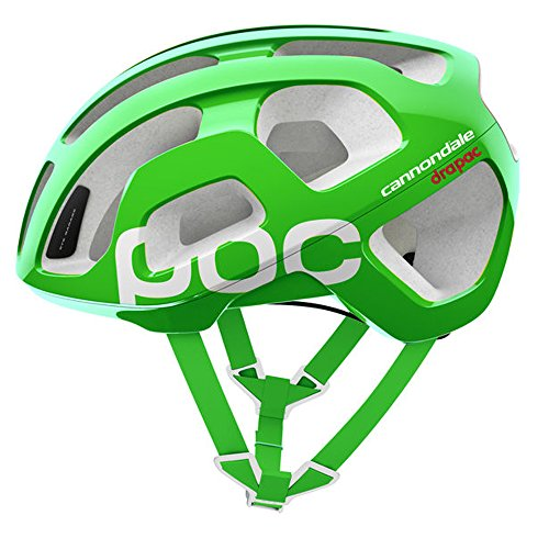 POC - Octal Cannondale Edition, Helmet for Road Biking, Cannondale Green, M