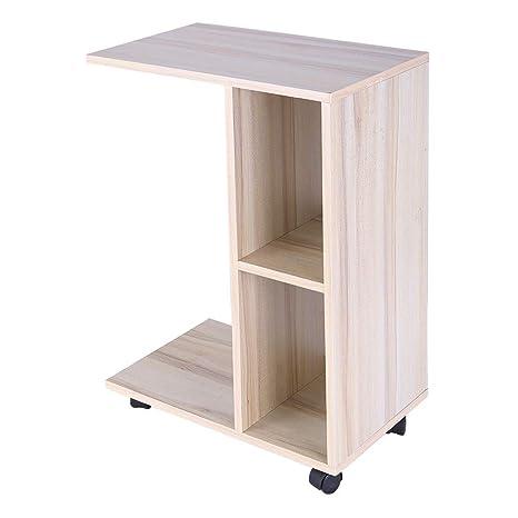 Amazon.com: Ydida Small Desk Multi-Function Modern Simple ...