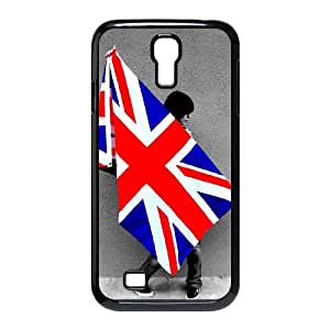 uk flag Samsung Galaxy S4 9500 Cell Phone Case Black 53Go-318507