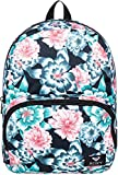 Roxy Junior's Always Core Mini Backpack, anthracite sample crystal flower, 1SZ