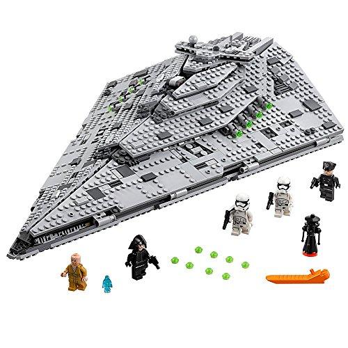 51bl7cZzBTL - LEGO Star Wars VIII First Order Star Destroyer 75190 Building Kit (1416 Piece)