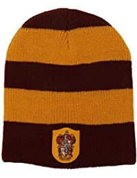 Harry Potter Gryffindor House Knit Hat Costume Beanie Adult