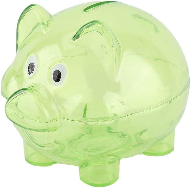 Salvadanaio a forma di maialino per il conteggio dei soldi dei bambini Arancione Wifehelper