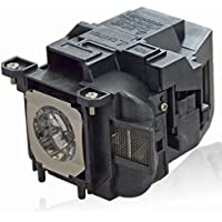 Projector Lamp for Epson EX3240/EX5240/EX5250/EX7240 Pro/EX9200 Pro/Home Cinema 1040/2040/2045/640/740HD/PowerLite 99WH/S27/VS240/VS340/VS345, Litance ELPLP88/V13H010L88 Bulb
