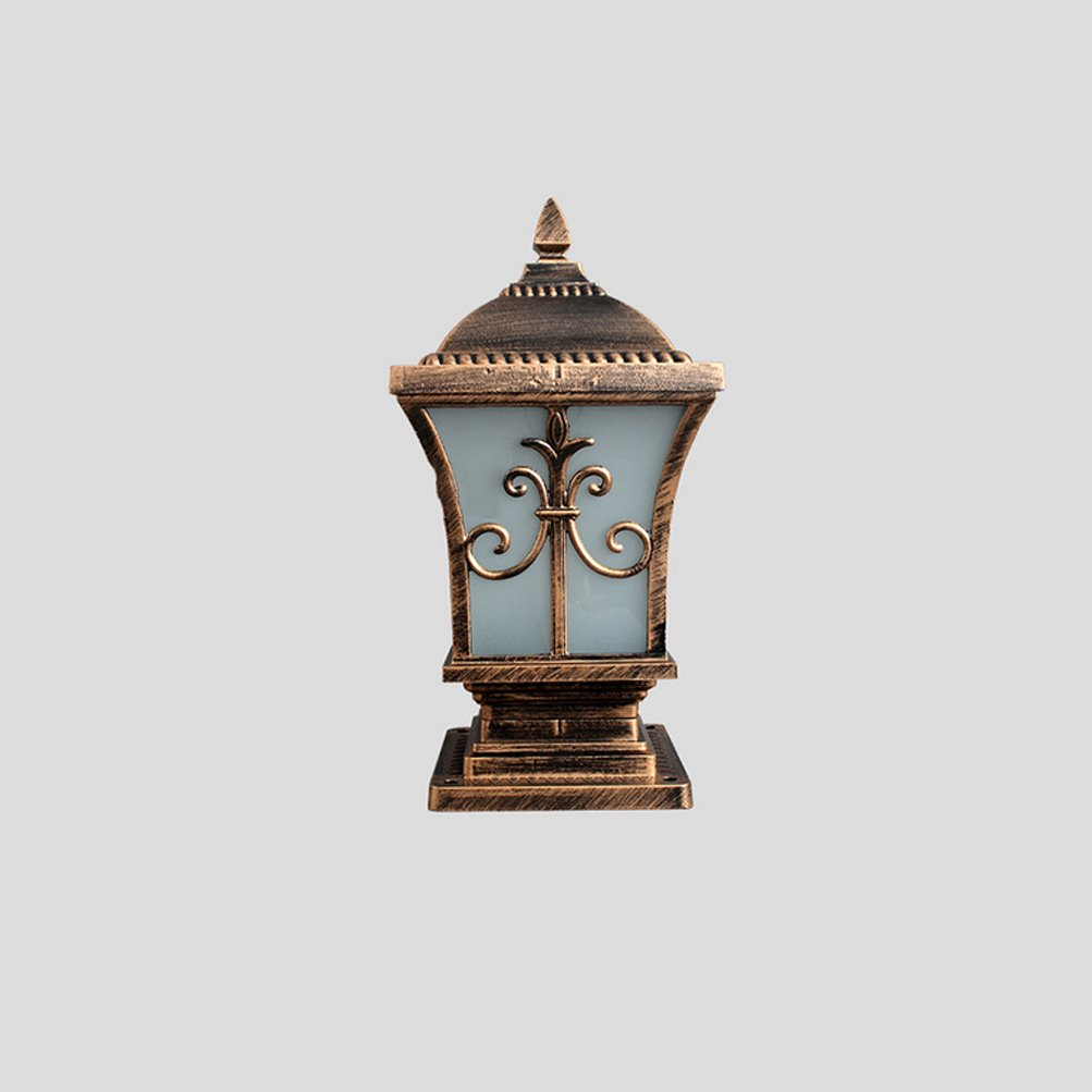LED per esterni Luci da giardino Lampada da parete Paesaggio ( Dimensione   Trumpet (bronze) )